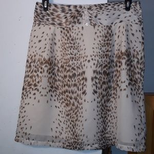 Cassee's Sheer Mini Skirt Size L